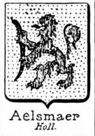 Aelsmaer Coat of Arms / Family Crest 0