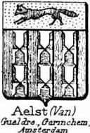 Aelst Coat of Arms / Family Crest 1