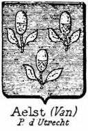 Aelst Coat of Arms / Family Crest 2