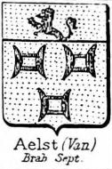 Aelst Coat of Arms / Family Crest 4
