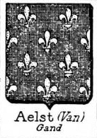 Aelst Coat of Arms / Family Crest 6