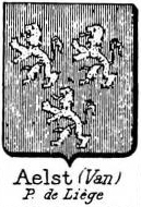 Aelst Coat of Arms / Family Crest 7