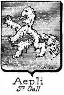 Aepli Coat of Arms / Family Crest 0