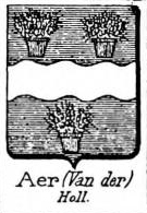 Aer Coat of Arms / Family Crest 1