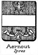 Aernout Coat of Arms / Family Crest 0