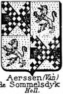 Aerssen Coat of Arms / Family Crest 2