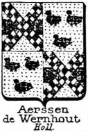 Aerssen Coat of Arms / Family Crest 3