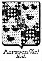 Aerssen Coat of Arms / Family Crest 0