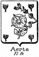 Aerte Coat of Arms / Family Crest 0