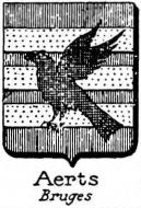 Aerts Coat of Arms / Family Crest 1