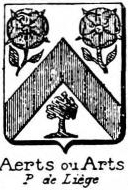 Aerts Coat of Arms / Family Crest 2