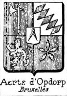 Aerts Coat of Arms / Family Crest 4