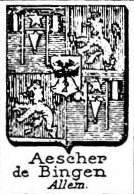Aescher Coat of Arms / Family Crest 0