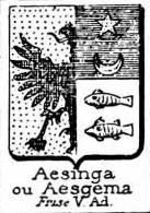 Aesgema Coat of Arms / Family Crest 0