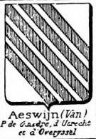 Aeswijn Coat of Arms / Family Crest 0