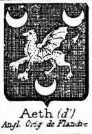 Aeth Coat of Arms / Family Crest 0