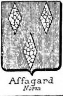 Affagard Coat of Arms / Family Crest 0