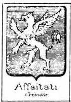 Affaitati Coat of Arms / Family Crest 1
