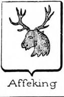 Affeking Coat of Arms / Family Crest 1