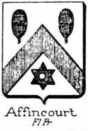 Affincourt Coat of Arms / Family Crest 0