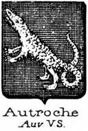 Autroche Coat of Arms / Family Crest 1