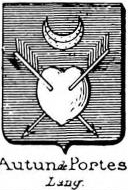 Autun Coat of Arms / Family Crest 1