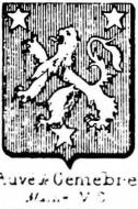 Auve Coat of Arms / Family Crest 1