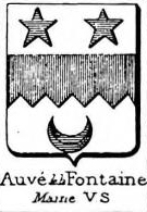 Auve Coat of Arms / Family Crest 0