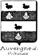 Auvergne Coat of Arms / Family Crest 1