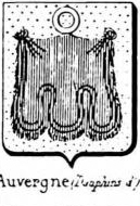 Auvergne Coat of Arms / Family Crest 2