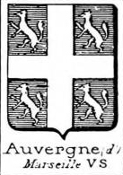 Auvergne Coat of Arms / Family Crest 3