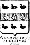 Auvergne Coat of Arms / Family Crest 6