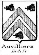 Auvilliers Coat of Arms / Family Crest 0