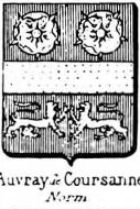 Auvray Coat of Arms / Family Crest 3