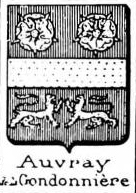 Auvray Coat of Arms / Family Crest 4
