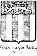 Auvray Coat of Arms / Family Crest 8