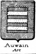 Auwain Coat of Arms / Family Crest 0