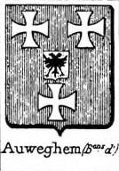 Auweghem Coat of Arms / Family Crest 1