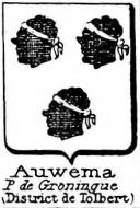 Auwema Coat of Arms / Family Crest 1