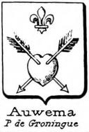 Auwema Coat of Arms / Family Crest 0