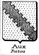 Aux Coat of Arms / Family Crest 1