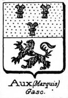 Aux Coat of Arms / Family Crest 3