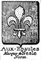Aux Coat of Arms / Family Crest 6