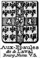 Aux Coat of Arms / Family Crest 8