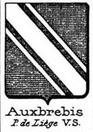 Auxbrebis Coat of Arms / Family Crest 1