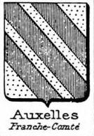 Auxelles Coat of Arms / Family Crest 1