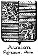 Auxion Coat of Arms / Family Crest 1