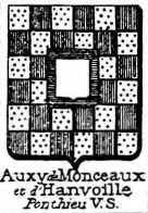 Auxy Coat of Arms / Family Crest 1