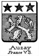 Auzay Coat of Arms / Family Crest 0