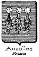 Auzolles Coat of Arms / Family Crest 0
